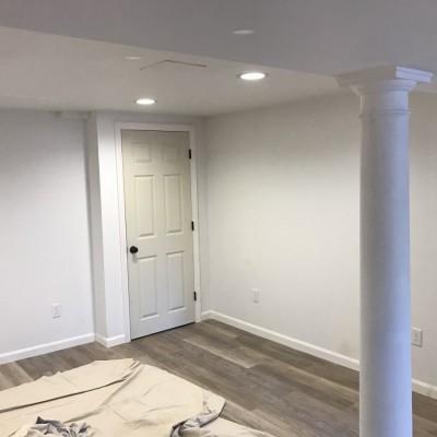 Wahoo wall basement remodeling