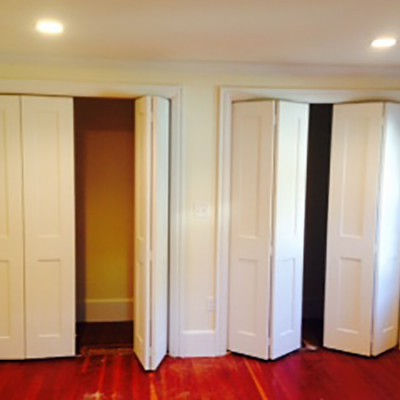New finished closet renovation