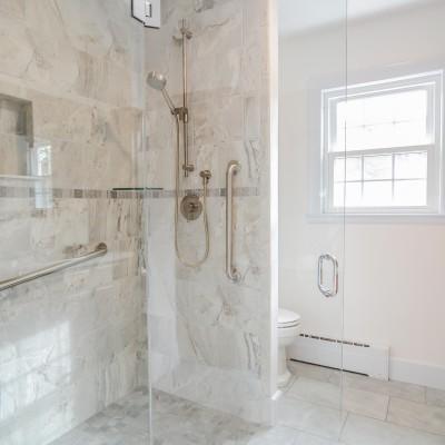 new shower renovations