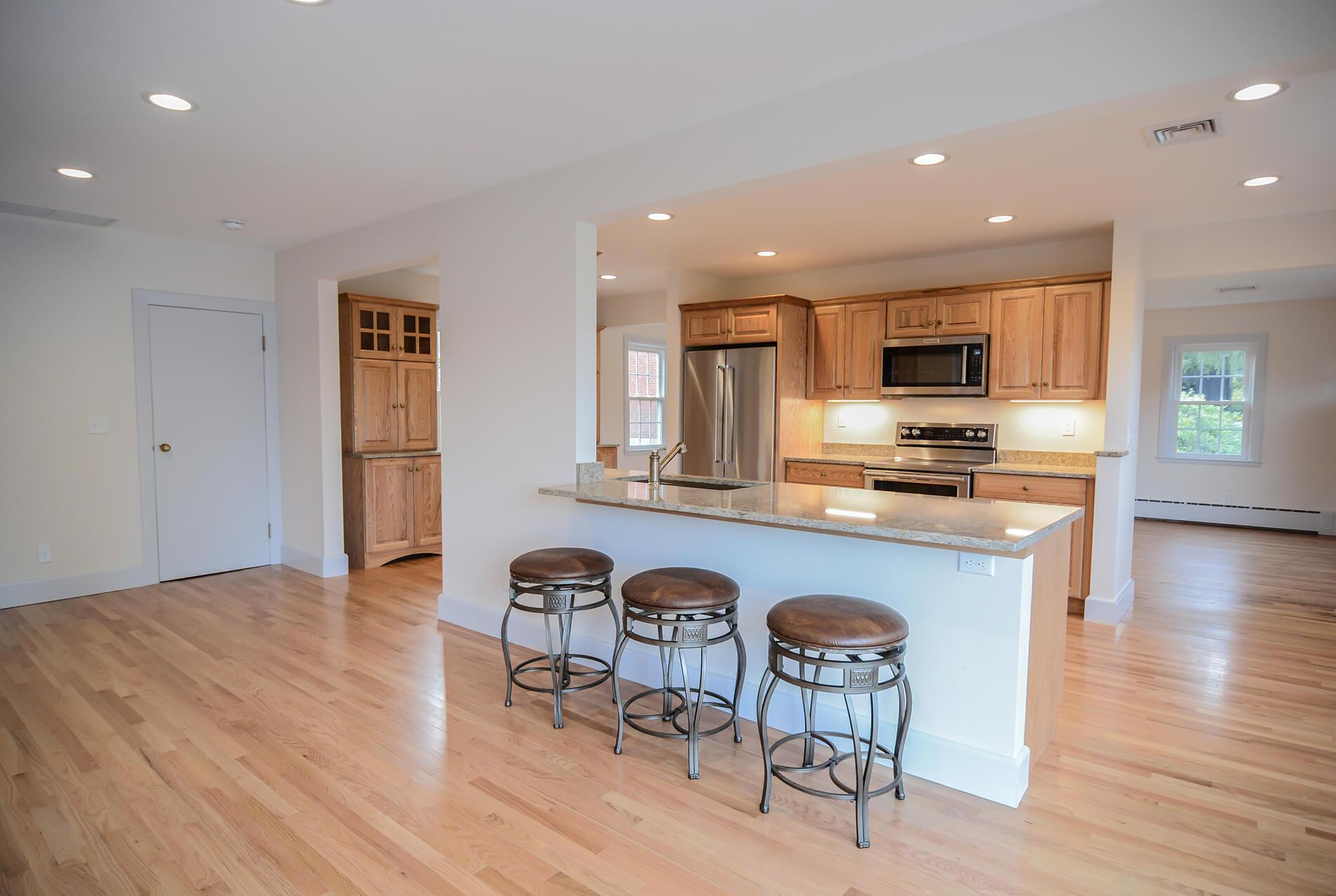 Modern interior house remodel