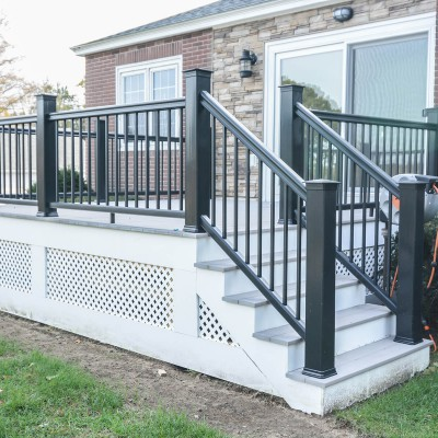 New Deck Remodel with Stairs