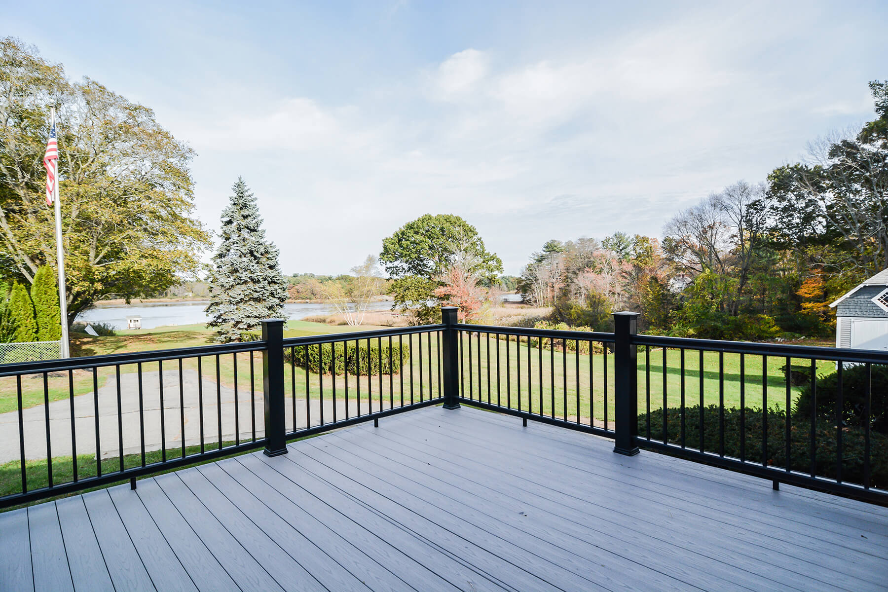 beautiful outside deck remodeling