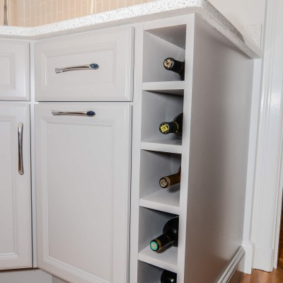 Cabinet remodel in Wellesley