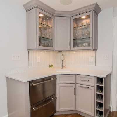 New Beuatiful cabinet remodeling in Wellesley