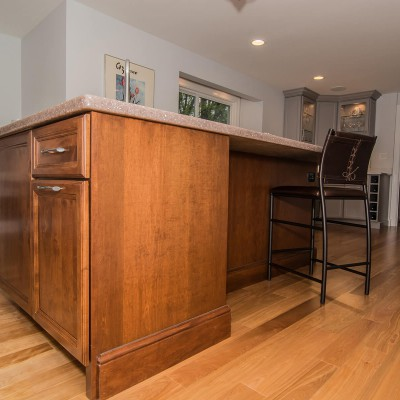 detailed cabinet remodeling in Wellesley