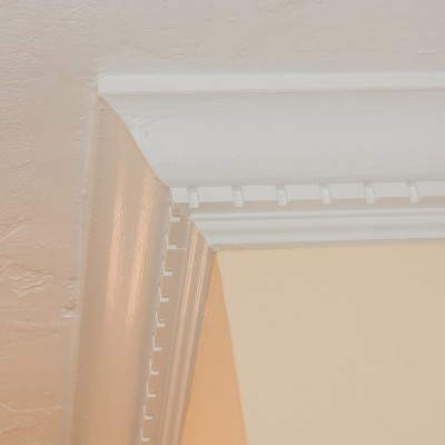 detailed trim molding remodel