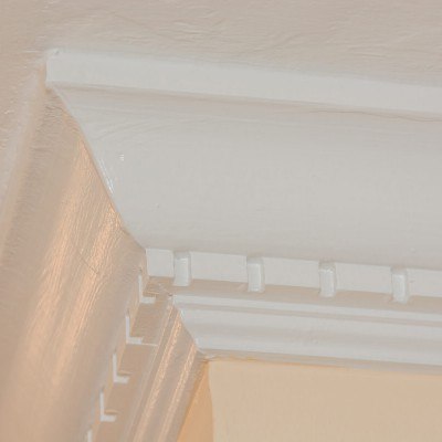 trim molding in full renovation