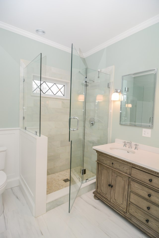 Hamilton Bath Remodeling with shower